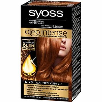 Syoss Oleo Intense Permanent Intensive Oil Color (6-76 Warm Copper)