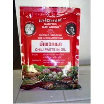 Nam Prik Pao Thai Chili Paste in Oil 16 Oz.