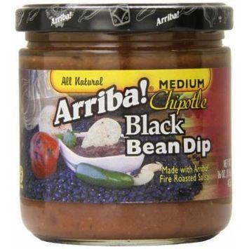 Arriba Black Bean Dip, Spicy, 16 Ounce