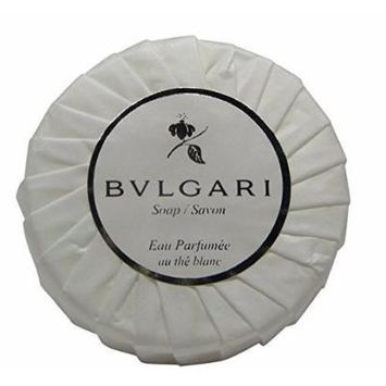 Bvlgari/Bulgari Au the Blanc (White Tea) Pleated Soap - 150 gm/5.3 oz