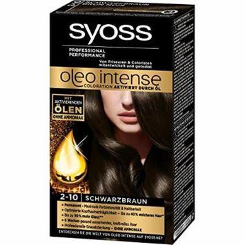 Syoss Oleo Intense Permanent Intensive Oil Color (2-10 Black Brown)