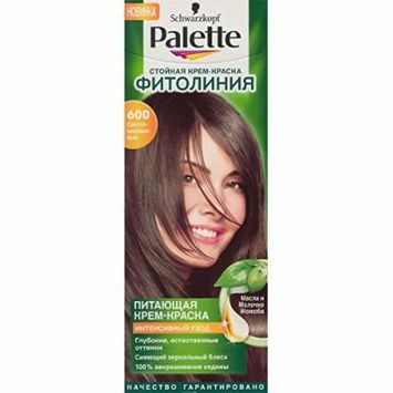 Palette Permanent Natural Colors 600 Light Brown