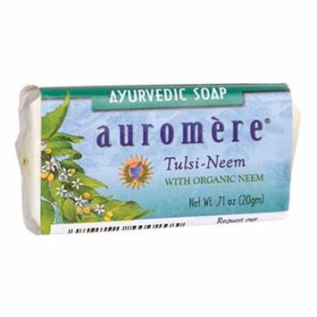 Auromere Ayurvedic Soap - Tulsi-Neem 0.71 oz (20 grams) Bar(S)