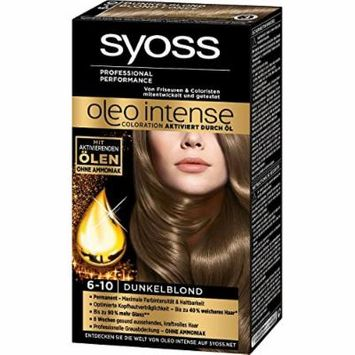 Syoss Oleo Intense Permanent Intensive Oil Color (6-10 Dark Blond)