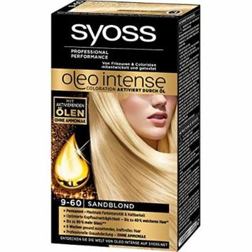 Syoss Oleo Intense Permanent Intensive Oil Color (9-60 Sandy Blond)