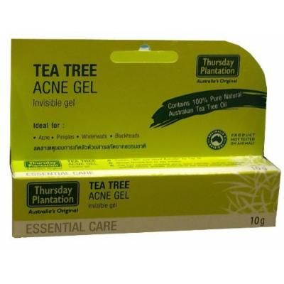 Thursday Plantation Tea Tree Acne Gel 10g (0.35 Oz) Product of Australia , dry out acne and pimples. Ideal for whiteheads, blackheads