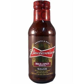 Budweiser Sauce Bbq Bold & Spicy