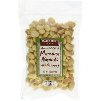 Trader Joe`s Roasted and Salted Marcona Almonds with Rosemary