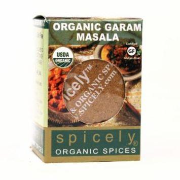 Spicely Organic Seasoning, Garam Masala - Compact