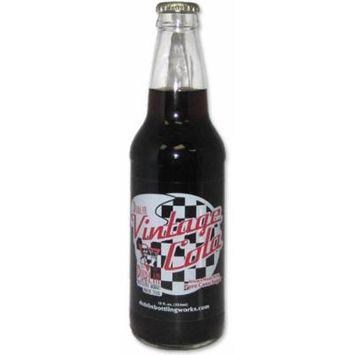 Retro Soda Sweetened with Pure Cane Sugar 12oz Glass Bottles (Pack of 24) (Dublin Vintage Cola)