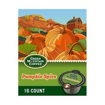 Green Mountain Pumpkin Spice Vue Pack 16 Count