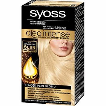Syoss Oleo Intense Permanent Intensive Oil Color (10-05 Pearl Blond)