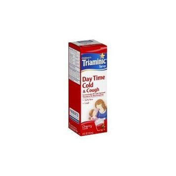Triaminic Children's Cold and Cough Day Time Syrup Cherry - 4 oz.