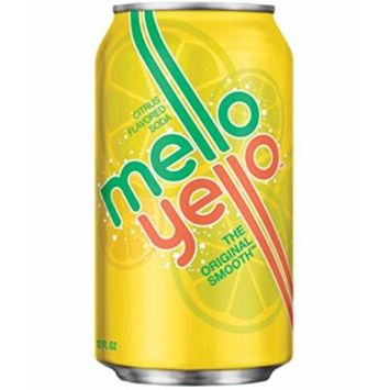 Mello Yello Soda, 12 Oz Can (Pack of 24)