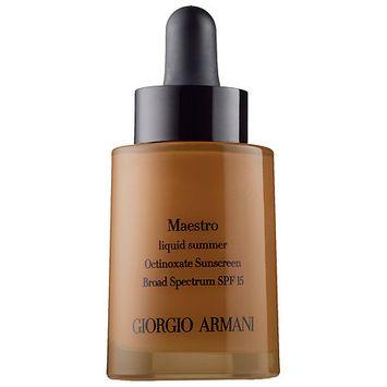 Gab Armani Maestro Liquid Bronzer-Colorless