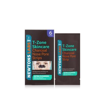 NEWTON LABS™ T-Zone Skincare Charcoal Nose Pore Strips