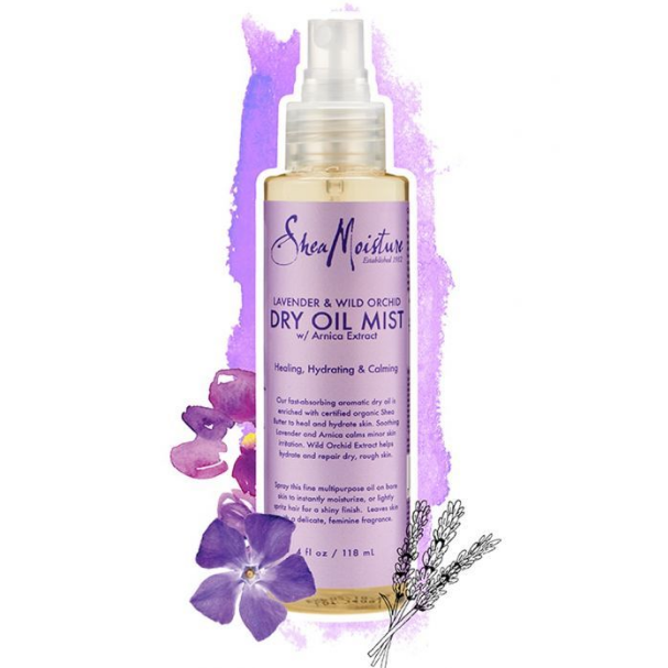 SheaMoisture Lavender & Wild Orchid Dry Oil Mist