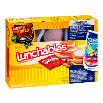 Lunchables Cracker Stackers Turkey & Cheddar Lower Fat