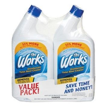 The Works Toilet Bowl Cleaner 2 / Pack