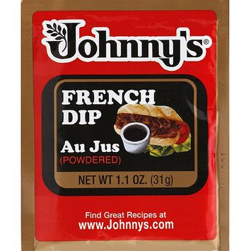 Johnny's Fine Foods Johnny's French Dip Powdered Au Jus, 1.1 oz, (Pack of 12)