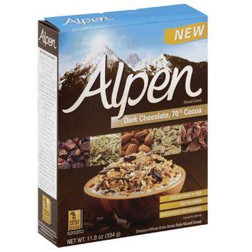 Alpen Dark Chocolate Muesli Cereal, 11.8 oz, (Pack of 12)