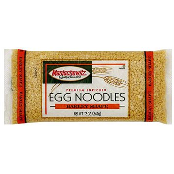 Manischewitz Barley Shape Egg Noodles, 12 oz (Pack of 12)