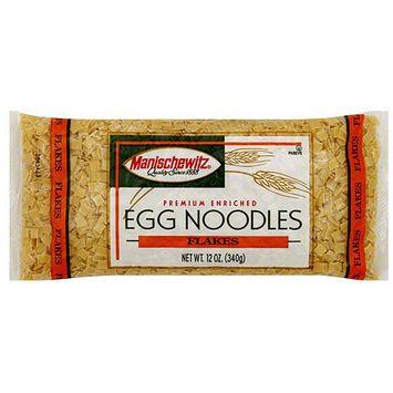 Manischewitz Premium Enriched Egg Noodles, 12 oz (Pack of 12)