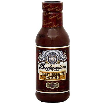 Budweiser King Of Beers Honey Barbecue Sauce