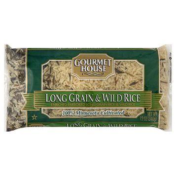S & W Gourmet House Long Grain & Wild Rice, 12 oz, (Pack of 12)