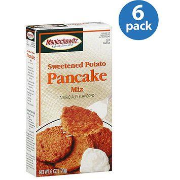 Manischewitz Sweetened Potato Pancake Mix, 6 oz, (Pack of 6)