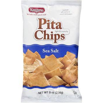 Kangaroo Sea Salt Pita Chips, 9 oz