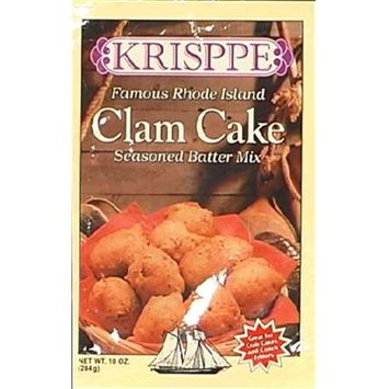 Krisppe Mix Batter Clam Cake 10 OZ -Pack Of 9