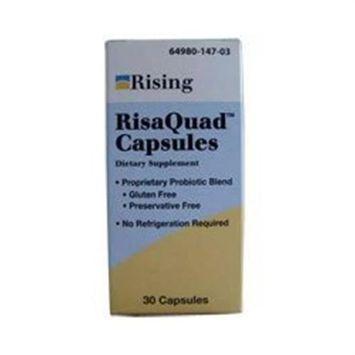 Risaquad Capsules - 30 Ea Equivalent to Flora-Q