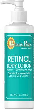 Puritan's Pride 2 Units of Retinol Body Lotion (Vitamin A 100,000 IU Per Ounce)-4 oz-Lotion