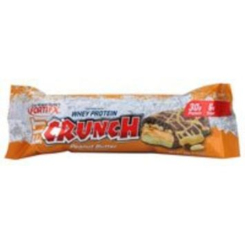 Chef Robert Irvine FortiFX - Fit Crunch Protein Bar Peanut Butter - 88 Grams