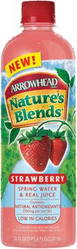 Arrowhead Nature's Blends Spring Water & Real Juice Strawberry