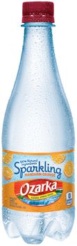 Ozarka® Sparkling Mandarin Orange Natural Spring Water