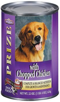 Springfield Prize Chopped Chicken Dog Food