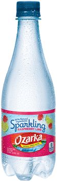 Ozarka® Sparkling Raspberry Lime Natural Spring Water