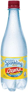 Ozarka® Sparkling Lemon Natural Spring Water