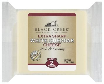 Black Creek Extra Sharp White Cheddar Cheese