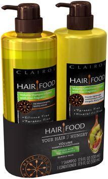Infused with Kiwi Fragrance Hair Food Volume Shampoo + Conditioner infused with Kiwi Fragrance 17.9oz Bundle Pack