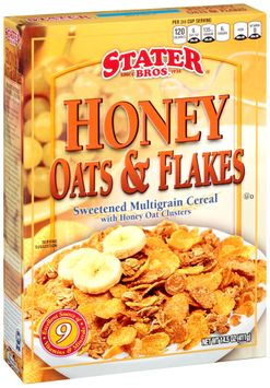 Stater bros® Honey Oats & Flakes Cereal