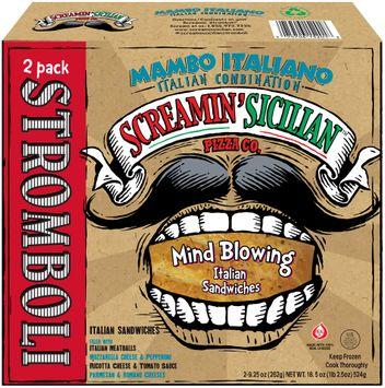 Screamin' Sicilian™ Pizza Co. Mambo Italiano Italian Combination Stromboli 2 ct Box
