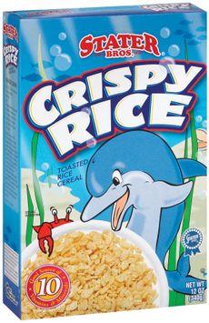 Stater bros Crispy Rice Cereal