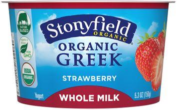 Storyfield Organic® Strawberry Greek Yogurt