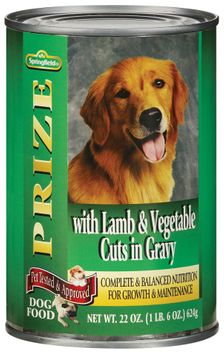 Springfield Prize W/Lamb & Vegetable Cuts in Gravy Dog Food