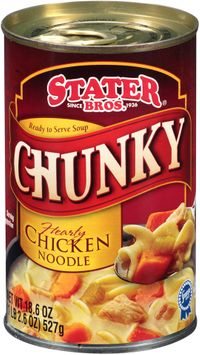 Stater® bros Chunky Hearty Chicken Noodle Soup