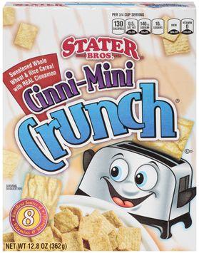 Stater bros Cinni-Mini Crunch Cereal