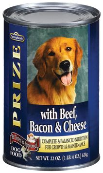 Springfield Prize Beef Bacon & Cheese Dog Food